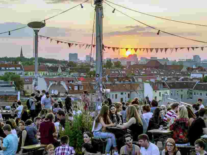 Voici les 6 lieux les plus tendance à Berlin, selon les utilisateurs de l'appli Mapstr