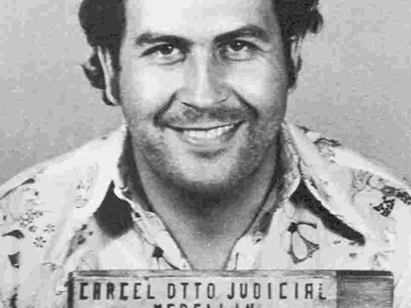 Le légendaire trafiquant de drogue Pablo Escobar perdait 2,1 Mds$ par an — sans s'en inquiéter