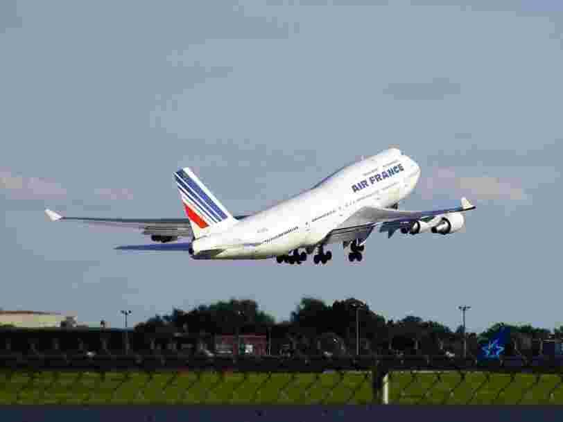 Air France-KLM va appliquer des frais sur certaines réservations de billets pour faire revenir ses clients sur son site internet