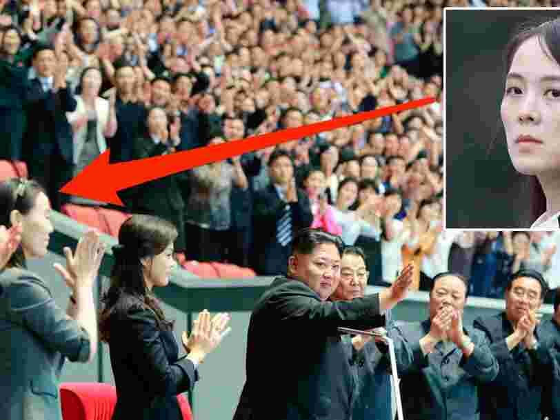 La mystérieuse soeur de Kim Jong-Un est apparue à ses côtés, alors qu'on la pensait en disgrâce