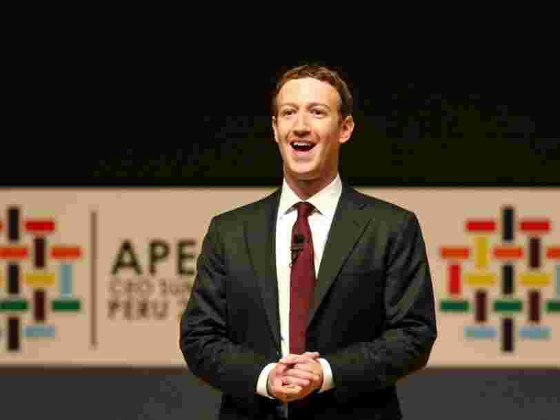 Des échanges de sms entre Mark Zuckerberg et un investisseur montrent que le fondateur de Facebook pense à faire de la politique