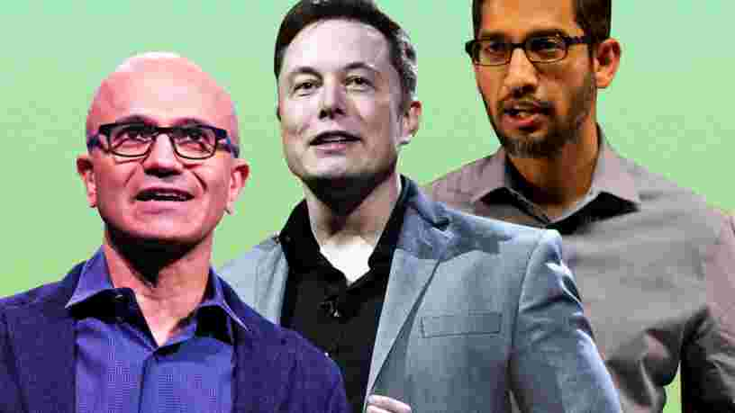 Voici les 29 meilleurs patrons de la tech en 2018, selon leurs employés