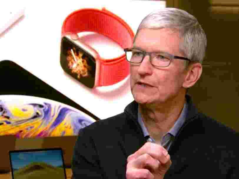 Les bénéfices d'Apple pourraient chuter de 30% si ses produits étaient bannis de Chine