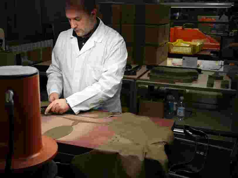 Les marques de luxe se préparent à fabriquer des sacs en cuir transparent grâce aux biotechnologies