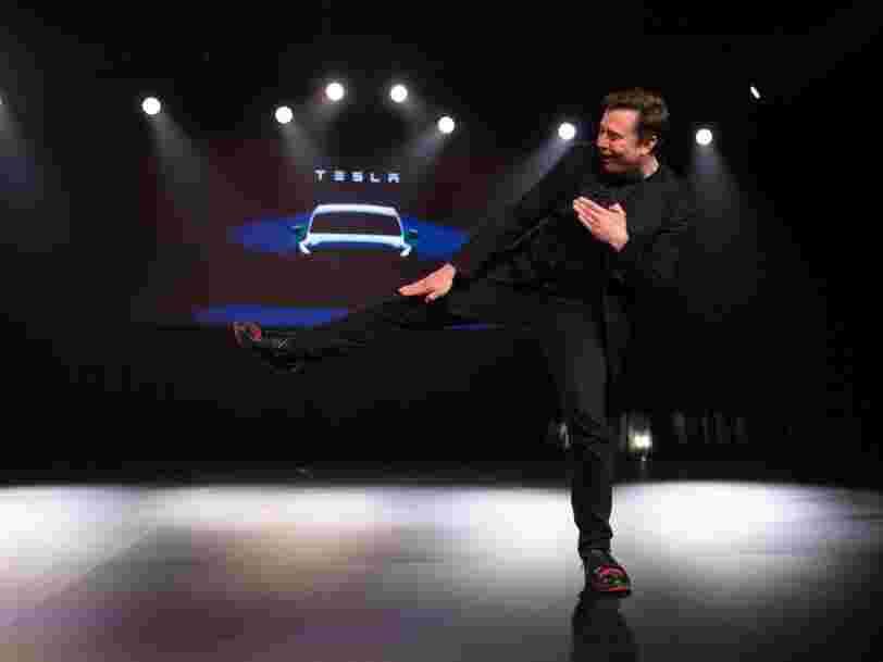 Tesla a dévoilé son SUV Model Y, Elon Musk se montre un peu trop optimiste