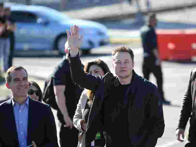 Elon Musk affirme qu'il a reçu l'autorisation pour lancer son train du futur Hyperloop entre New York et Washington