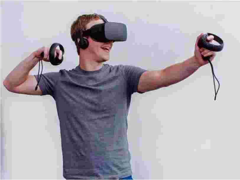 Mark Zuckerberg a passé en revue les projets les plus cools des ingénieurs de Facebook