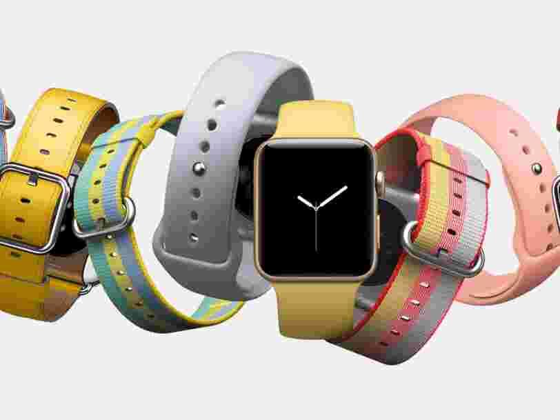 Apple Watch est à présent la montre la plus populaire dans le monde devant Rolex —voilà comment c'est possible