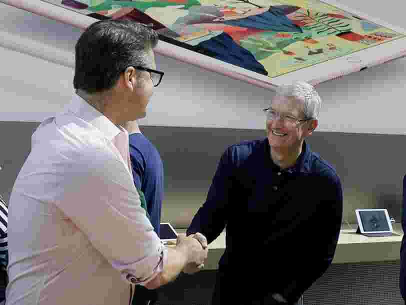 Apple rachète une startup de réalité augmentée pour 30M$ — et ça pourrait lui offrir un coup d'avance sur la prochaine grosse nouveauté