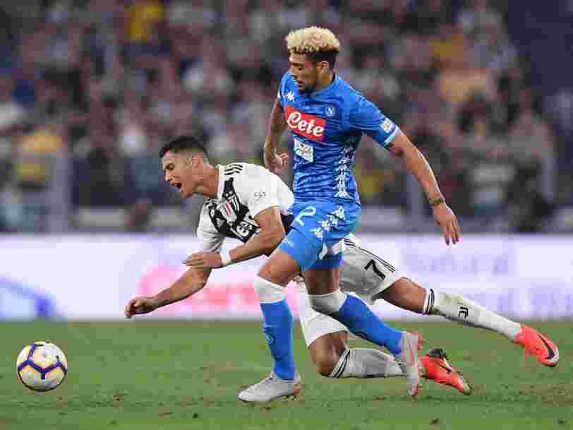 La Juventus de Turin plonge en Bourse alors que son attaquant Ronaldo est accusé d'agression sexuelle