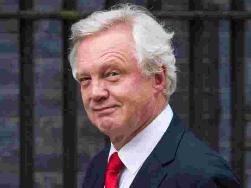 Le ministre britannique chargé du Brexit dit que le Royaume-Uni ne paiera pas sa facture de 45Mds€ si l'Union européenne ne propose pas un accord plus détaillé
