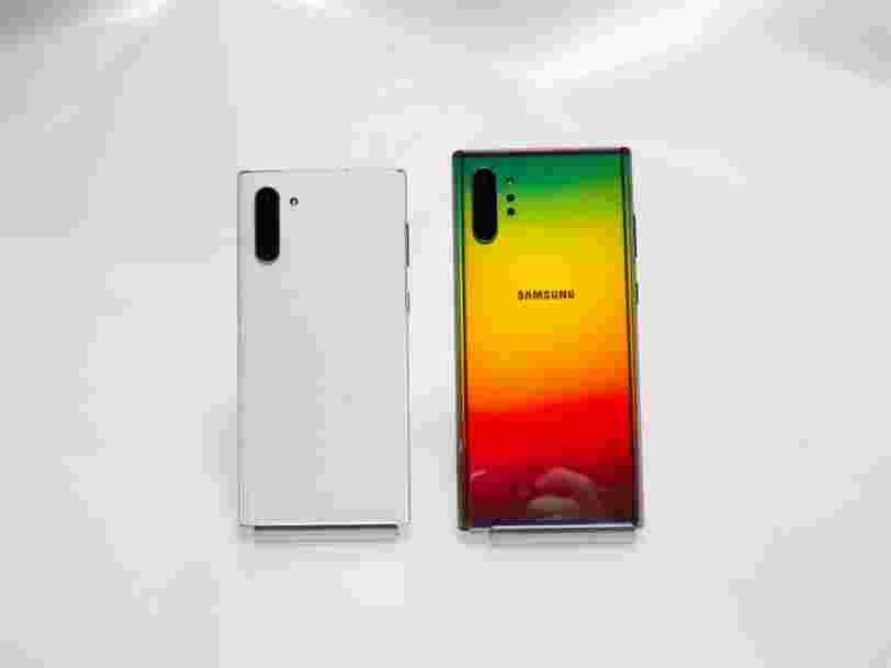 Galaxy Note 10 et Note 10 Plus : ce qu'il faut savoir sur les nouveaux Samsung, du prix au stylet S Pen
