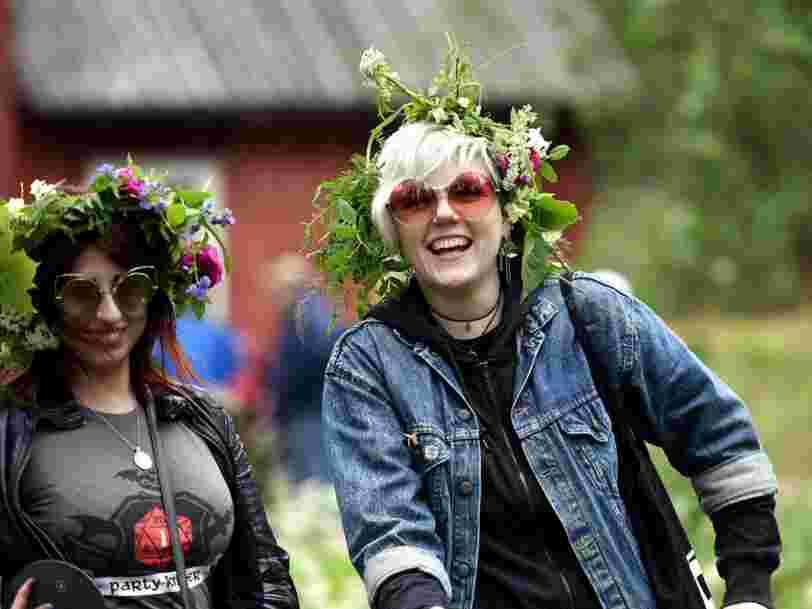 Finlande, Autriche, Costa Rica... Ces 24 pays où les habitants sont les plus heureux du monde
