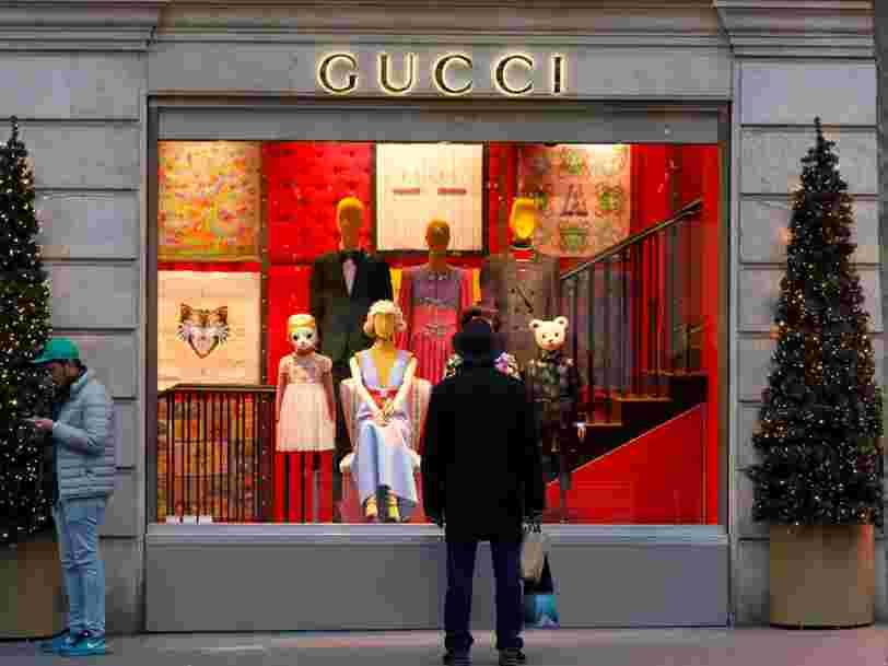Gucci est la marque préférée des millennials mais certains investisseurs craignent qu'ils ne se lassent