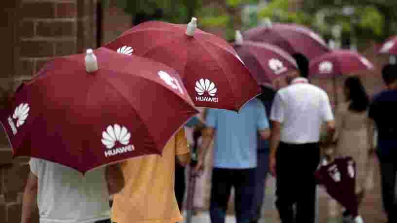 Des employés de Huawei auraient travaillé avec l'armée chinoise... et les 6 autres choses à savoir dans la tech ce matin