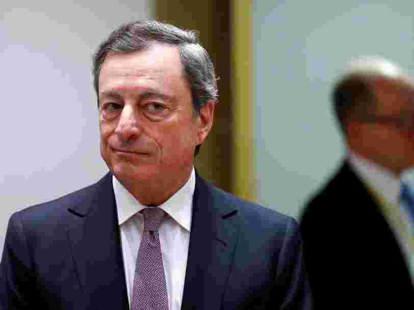 La BCE fait un tout petit pas vers la sortie de son programme de soutien à l'économie