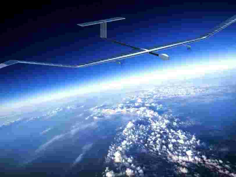Airbus a décidé de baser son avion à énergie solaire Zephyr en Australie