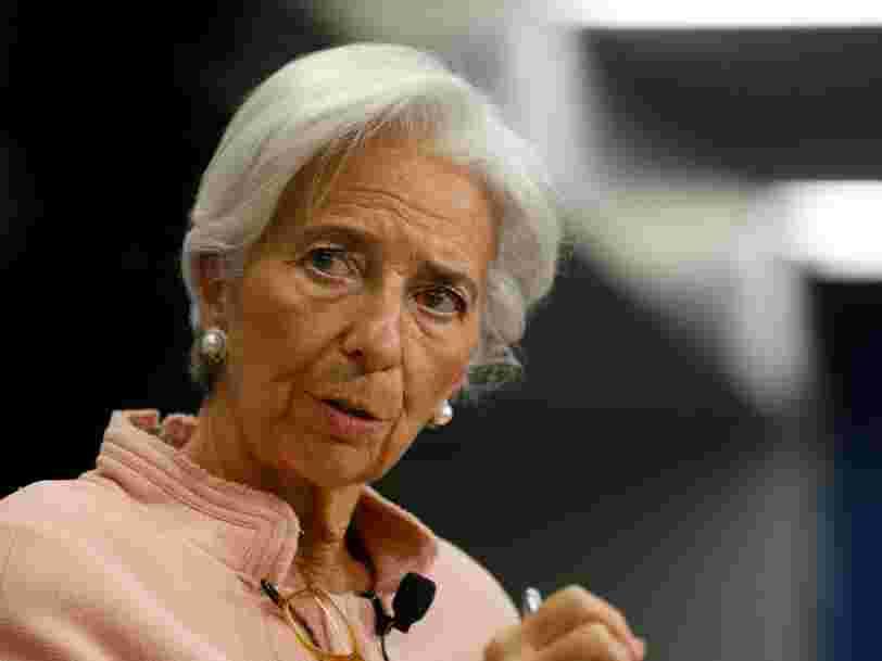 La patronne du FMI se dit 'inquiète' de l'issue des élections en France, aux Pays-Bas et en Allemagne