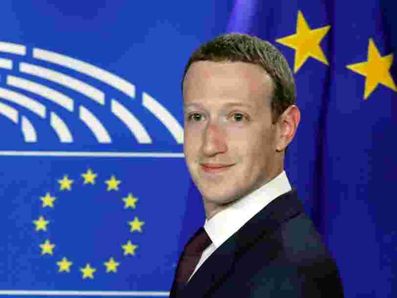 Facebook risque une amende de 1,63 Md$ pour une faille de sécurité qui pourrait avoir enfreint le droit européen en matière de protection de la vie privée