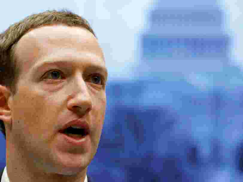 Mark Zuckerberg a décidé de participer à plein de débats publics en 2019. Voici ce qu'il a dit lors du premier
