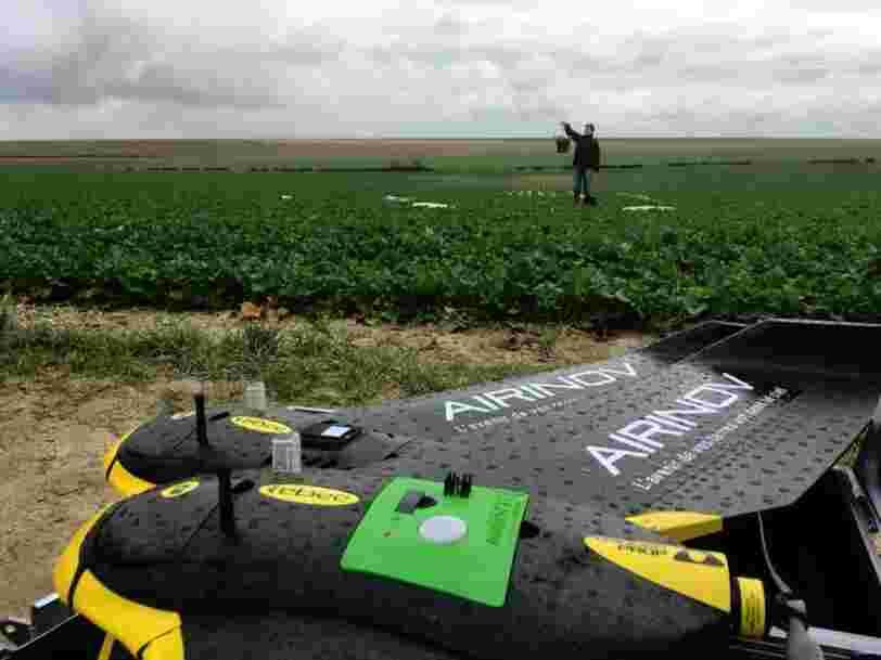 La ferme de demain sera équipée de robots et survolée par les drones — voici ce que les startups de l'agritech préparent