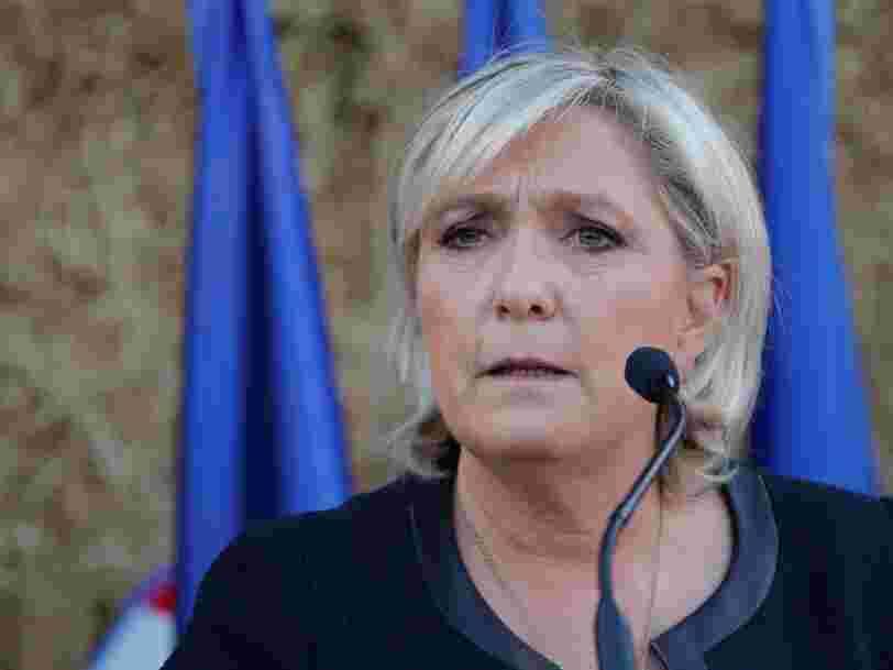 Des juges français demandent au Parlement européen de lever l'immunité de Marine Le Pen