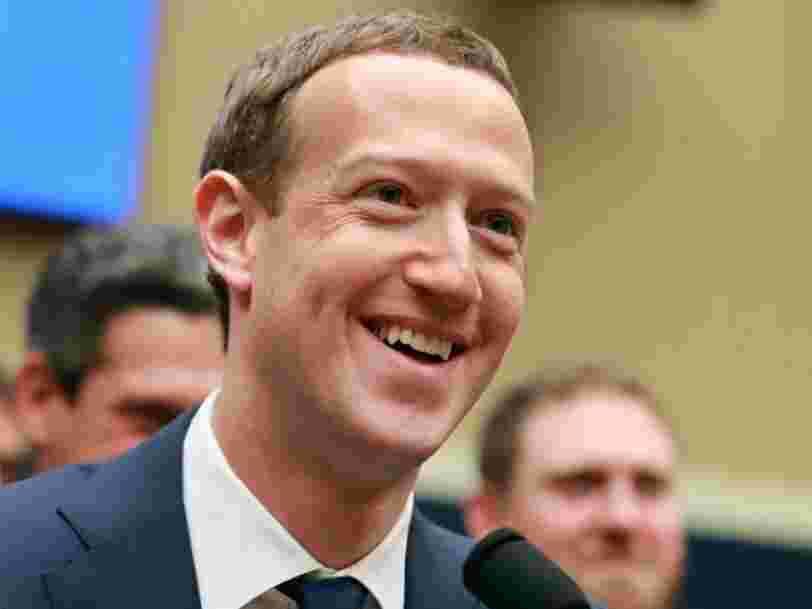 Facebook a torpillé les inquiétudes de Wall Street sur Cambridge Analytica avec un T1 monstrueux et son action grimpe