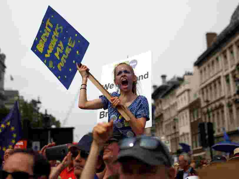 L'Union européenne estime qu'elle ne parviendra pas à conclure un accord sur le Brexit avec le Royaume-Uni d'ici octobre prochain