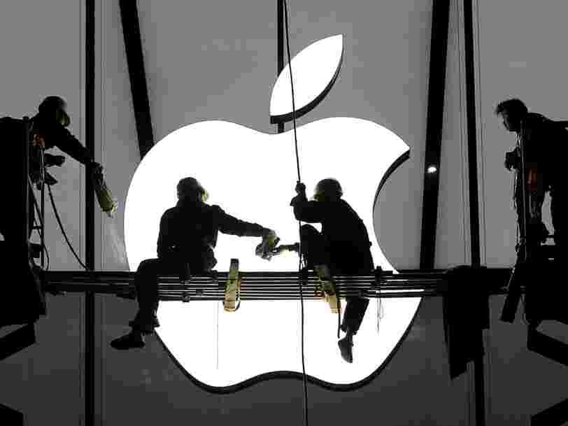 Apple a versé 13,1 Mds€ d'arriérés d'impôts à l'Irlande sur un compte bloqué
