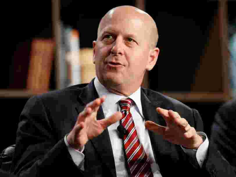 Le président de Goldman Sachs dit qu'un CV parfait ne vous ouvre pas toutes les portes — voici ce qui fait la différence