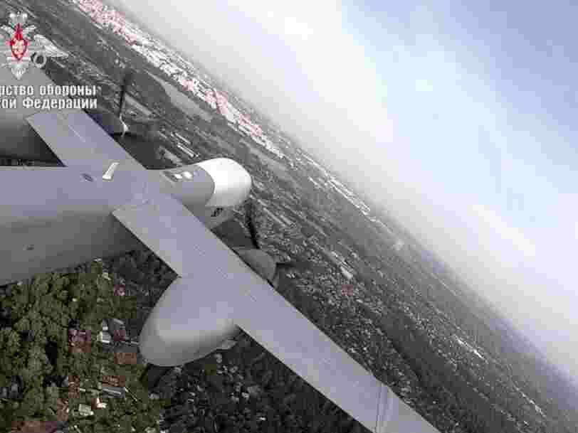 La Russie a réussi à faire voler son nouveau drone de 6 tonnes conçu pour mener des attaques de précision