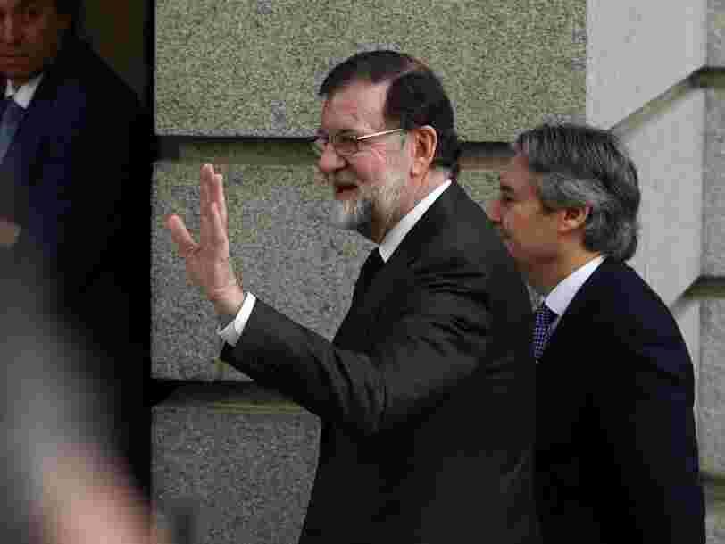 Le Premier ministre espagnol finit par démissionner à cause d'un scandale de corruption