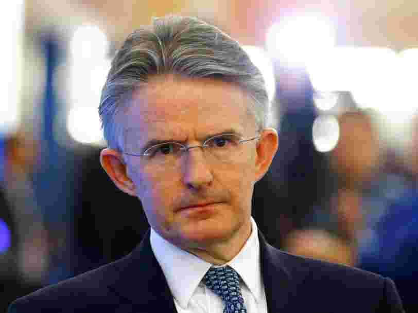 Le patron de HSBC quitte la banque seulement 18 mois après avoir été nommé directeur général