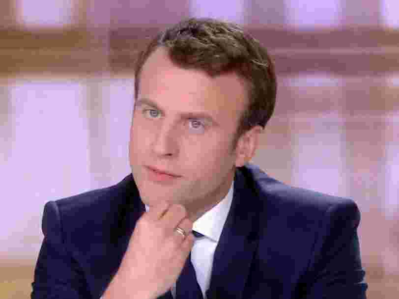 Le document à l'origine de la rumeur sur le compte offshore d'Emmanuel Macron est un montage — malgré les insistances de 4chan