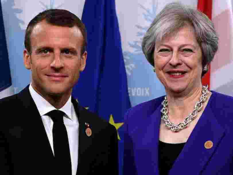 Emmanuel Macron serait prêt à lancer une bouée de sauvetage à Theresa May et empêcher un Brexit sans accord