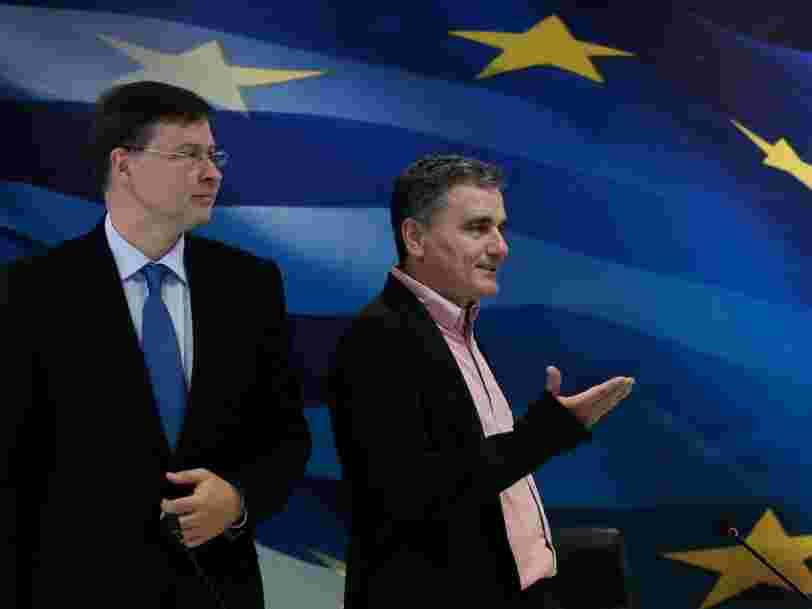 Les Européens sont parvenus à un accord pour sortir du plan d'aide à la Grèce