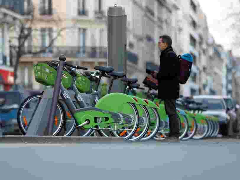 La startup derrière le nouveau Vélib' va devoir payer l'amende maximale pour le retard qu'elle prend à déployer ses vélos à Paris