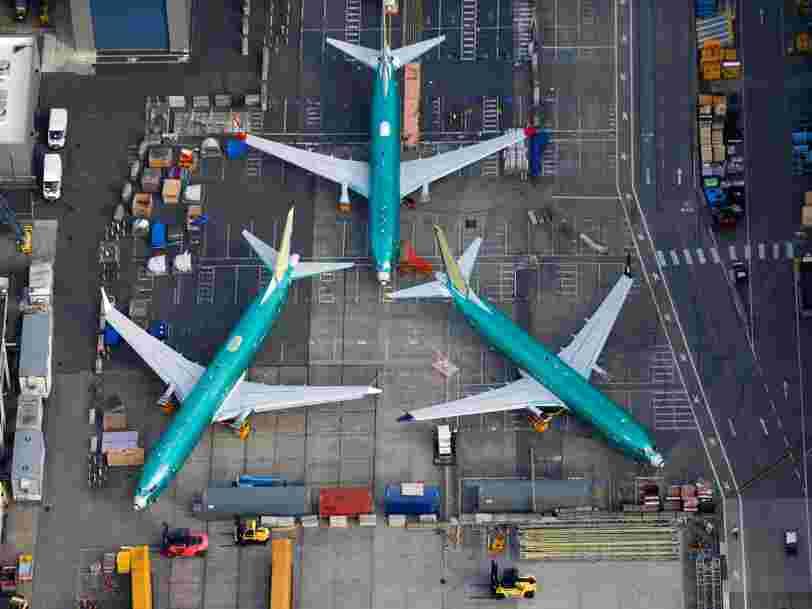 L'immobilisation des 737 MAX pèse lourd sur les résultats de Boeing
