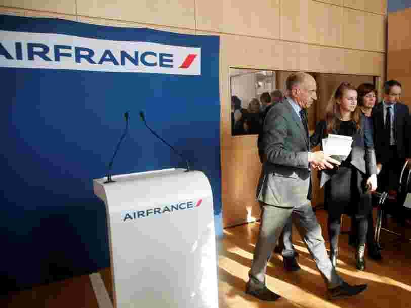 La grève reprend à Air France après le départ du PDG — voici ce qui va se passer maintenant