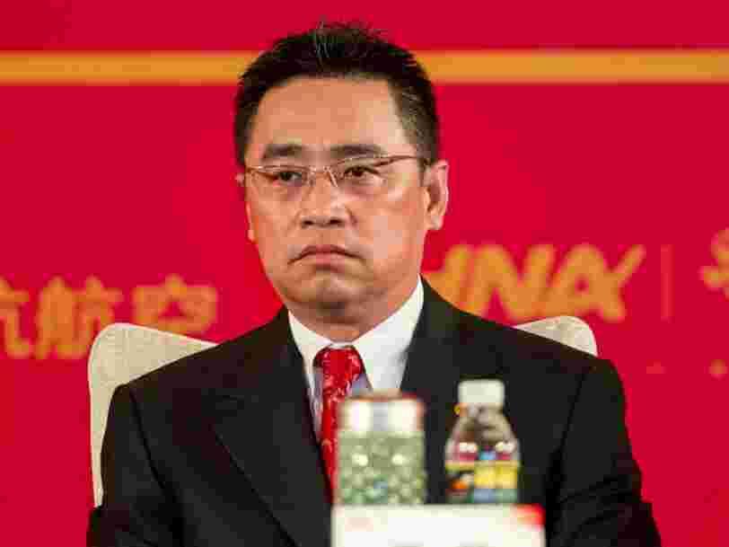 Le président d'un des plus grands conglomérats chinois est mort d'une chute dans le sud de la France