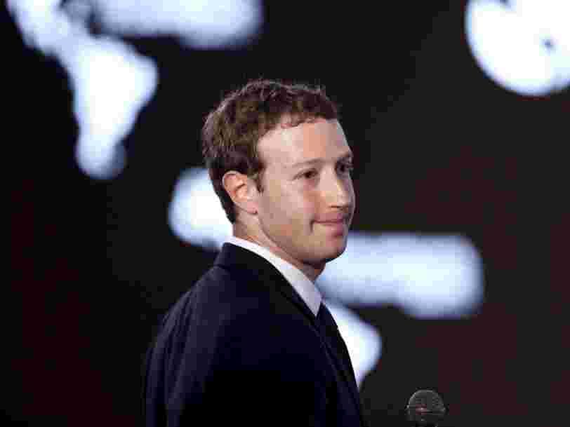 Mark Zuckerberg ne compte pas se présenter à la présidence des Etats-Unis