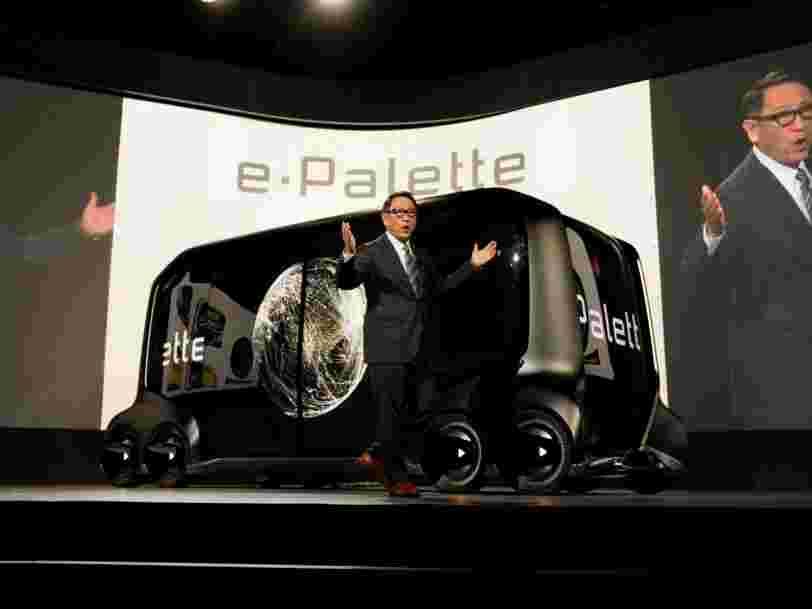 Toyota crée une société de R&D sur la voiture autonome dotée de 2,3Mds€