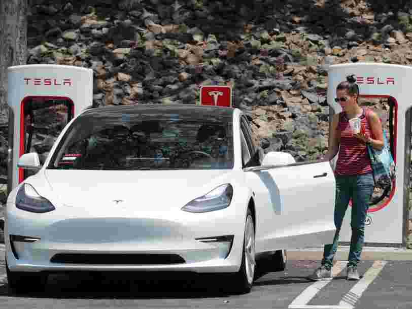 Tesla perd 11.000 € par voiture vendue