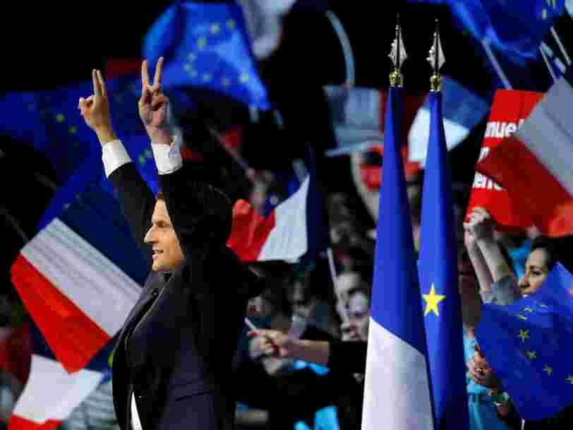 L'euro remonte après la qualification d'Emmanuel Macron pour le second tour de la présidentielle