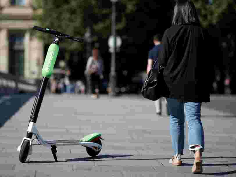 La startup de trottinettes électriques Lime lève 335 M$ auprès d'Uber et Alphabet — et ce n'est pas fini