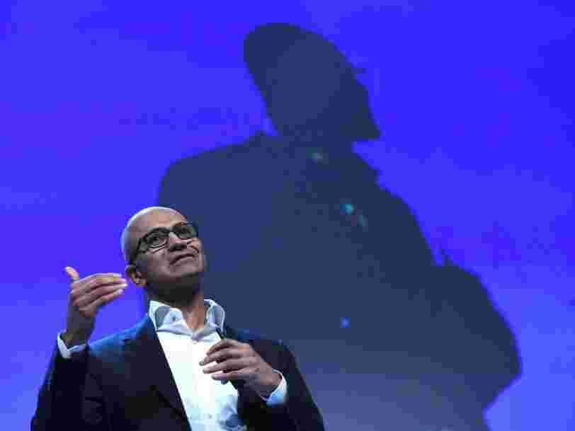 Microsoft a investi $3Mds dans ses activités de cloud en Europe
