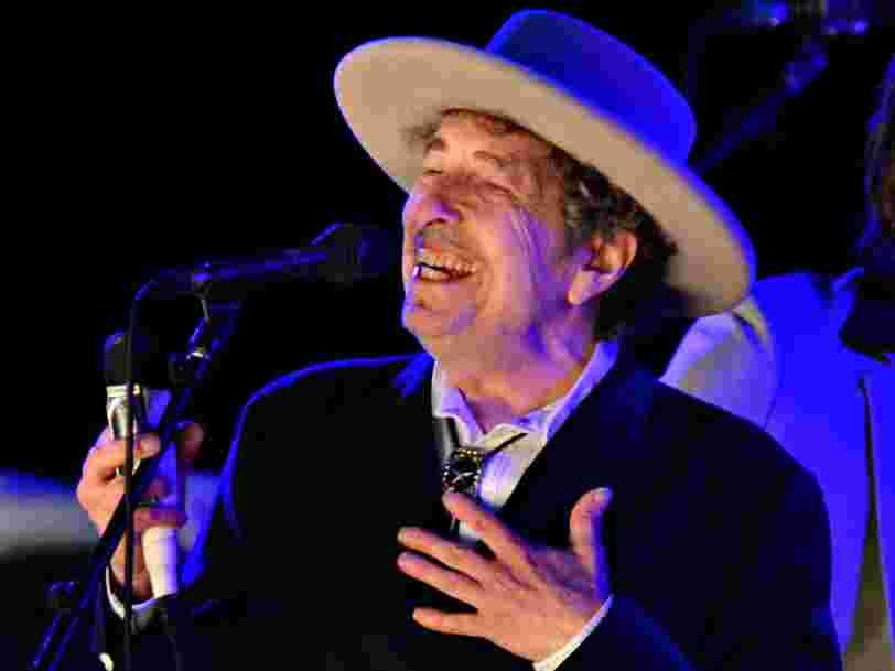 Le prix Nobel de littérature 2016 a été décerné au chanteur américain Bob Dylan