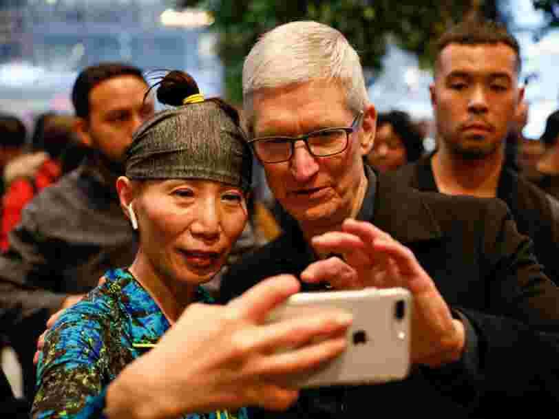 Apple a discrètement acheté une startup qui fabrique des lentilles pour lunettes intelligentes — et cela laisse entrevoir le prochain grand pari de l'entreprise