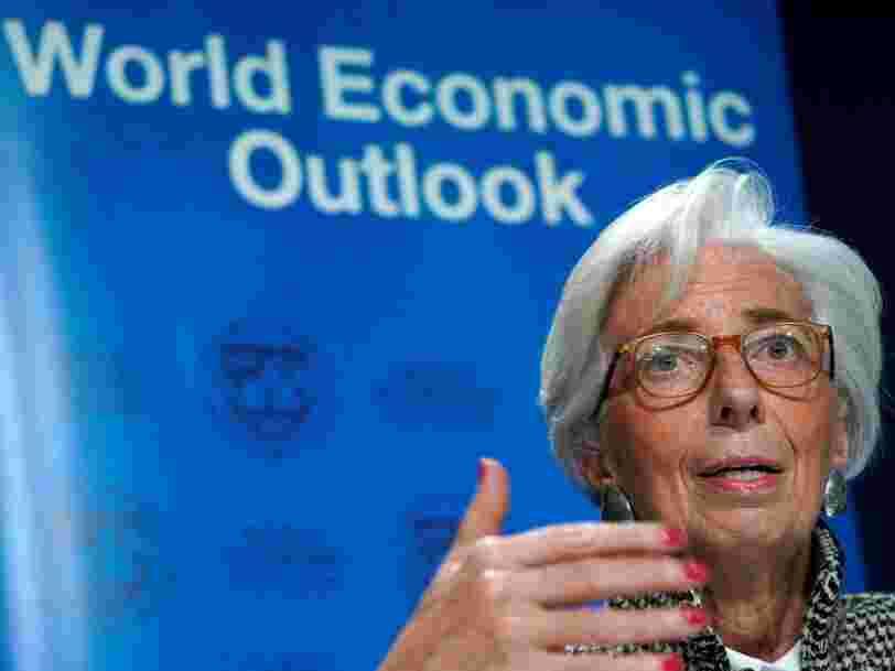Le FMI relève de nouveau ses prévisions de croissance pour l'économie mondiale — mais 2 choses pourraient torpiller cette tendance
