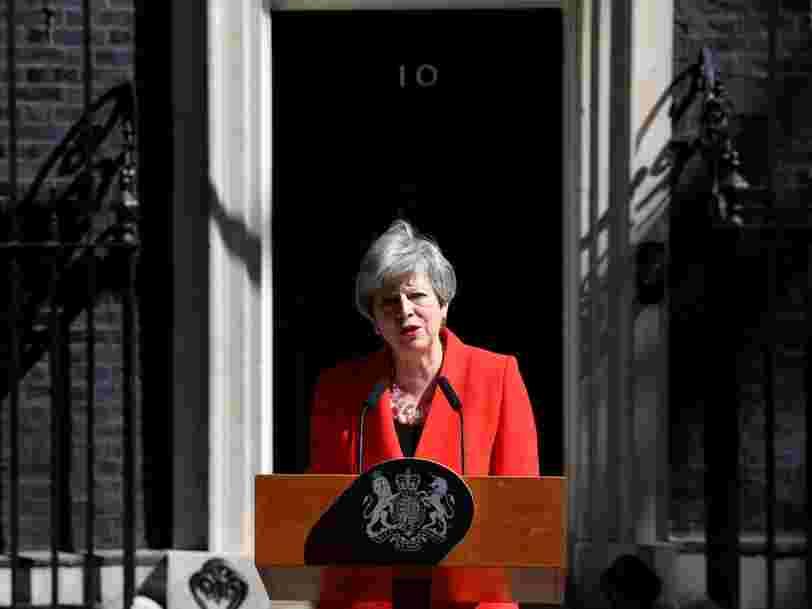 Brexit : Theresa May annonce la date de sa démission